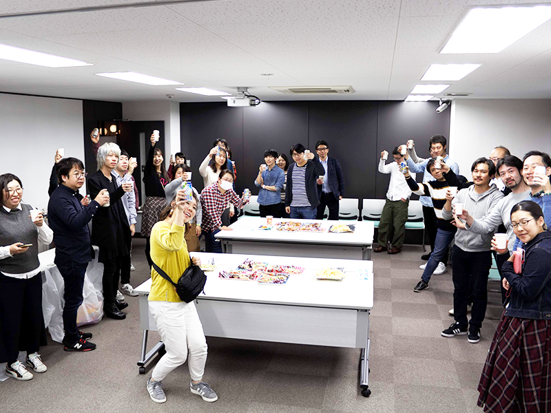 XDUG大阪の懇親会